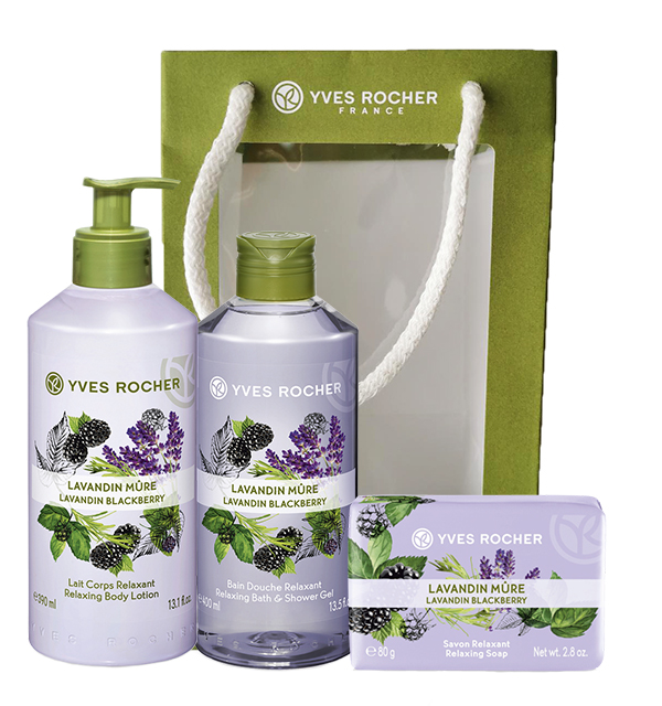 Set lavanda&kupina basic